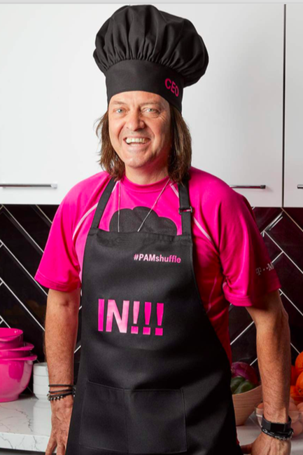 T-Mobile's CEO featured in the #SlowcookerSunday cookbook