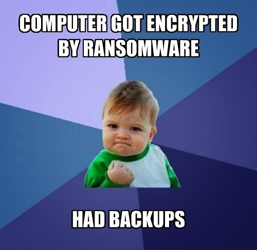 Bulletproof backups are a good defense against ransomware attacks.  They need to be tested regularly.