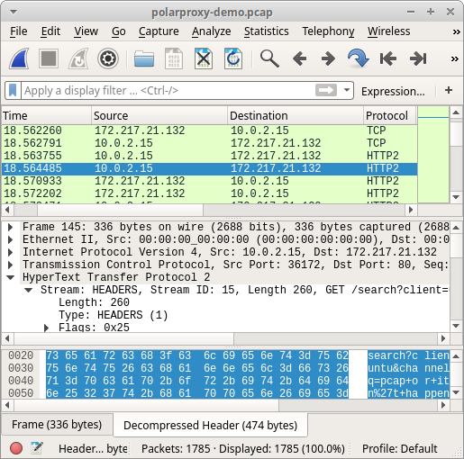 Packet captures are often useful in conducting forensic analysis after an attack