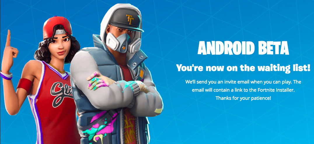 Fortnite irresponsibly asks users to side-load applications instead of downloading them through the Play Store