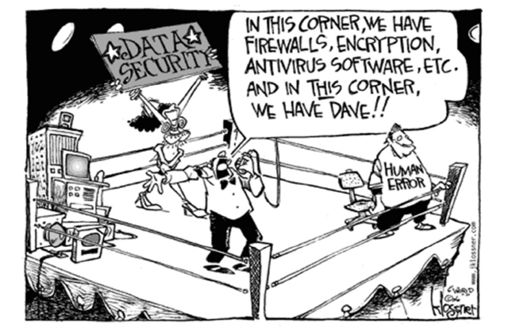 Security organizations vs the users
