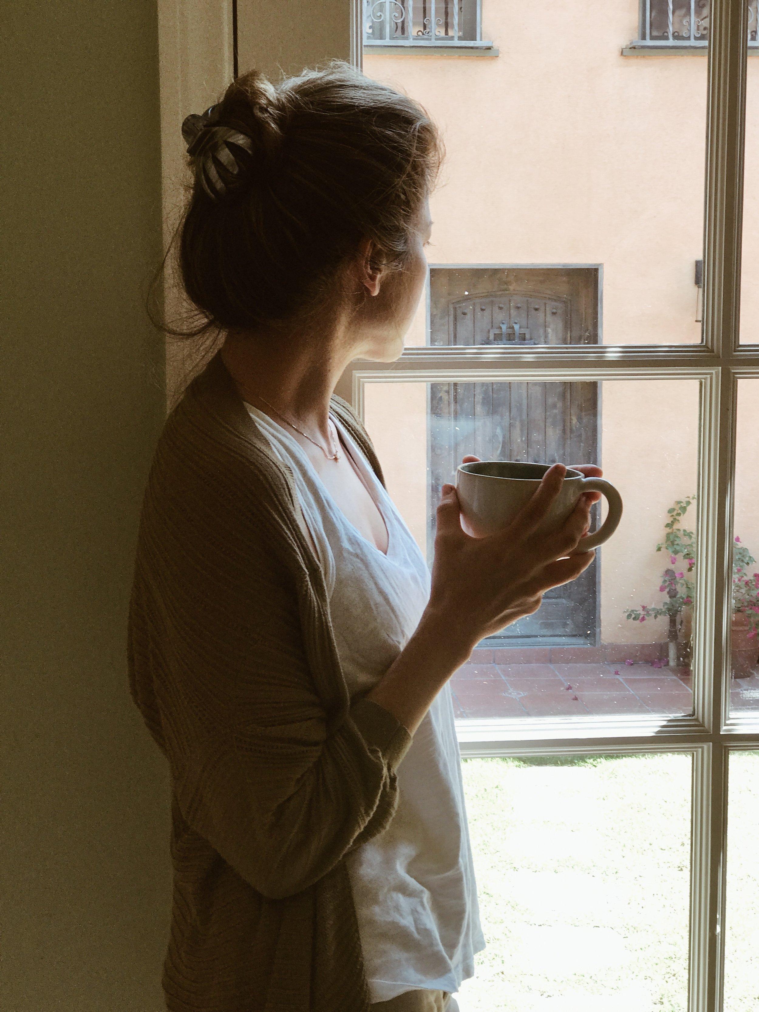 A tea break