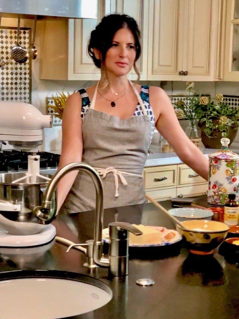 In the kitchen BTS