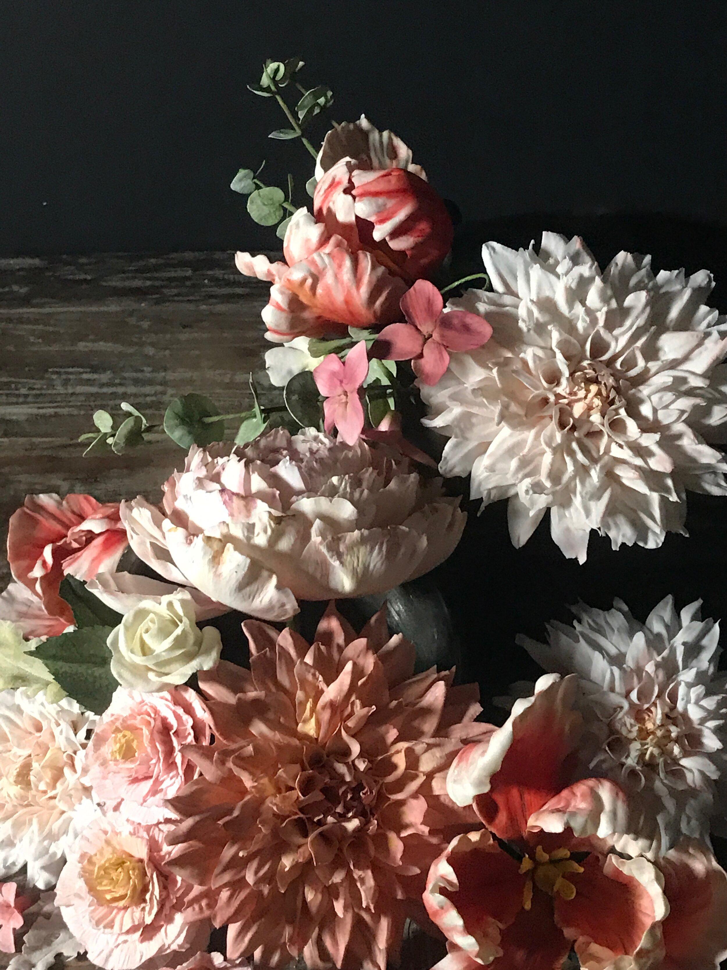 Fine Art Photo of Sugar Flowers