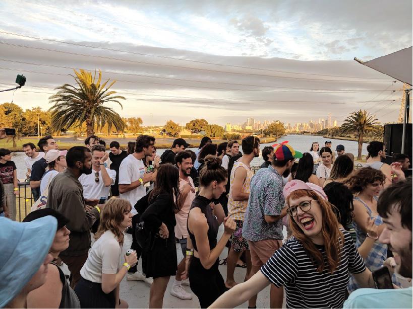 Nong Sound at Footscray Boat Club