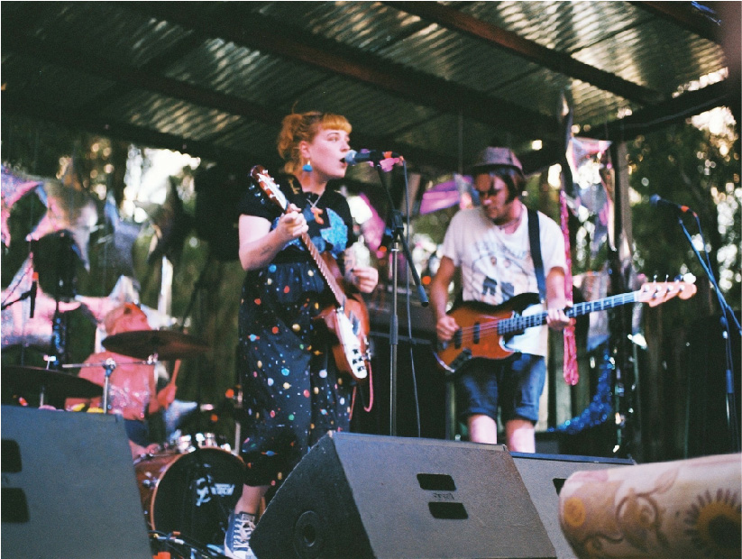 Nong Sound with Loose Tooth on the main stage at Camp Nong 2015