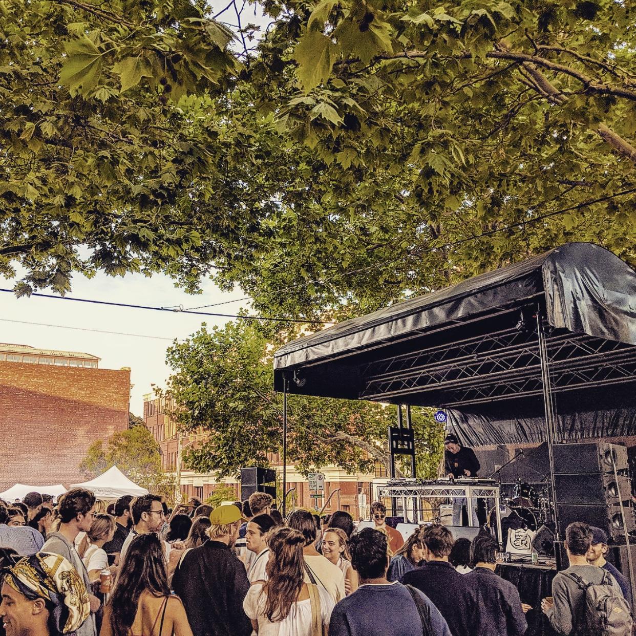 Nong Sound at Peel Street festival