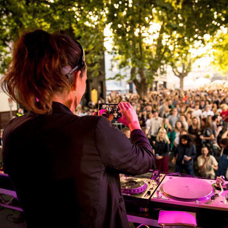 Nong Sound with DJ JNETT at Peel St Festival