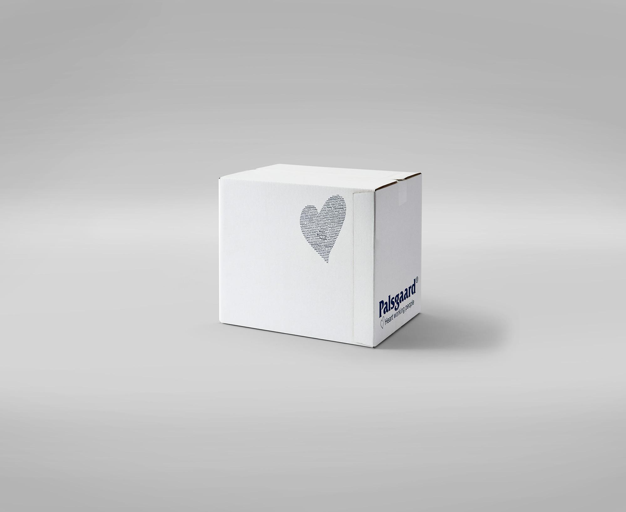 Udvendig limklap skåner emballagens indhold mod rifter og brud