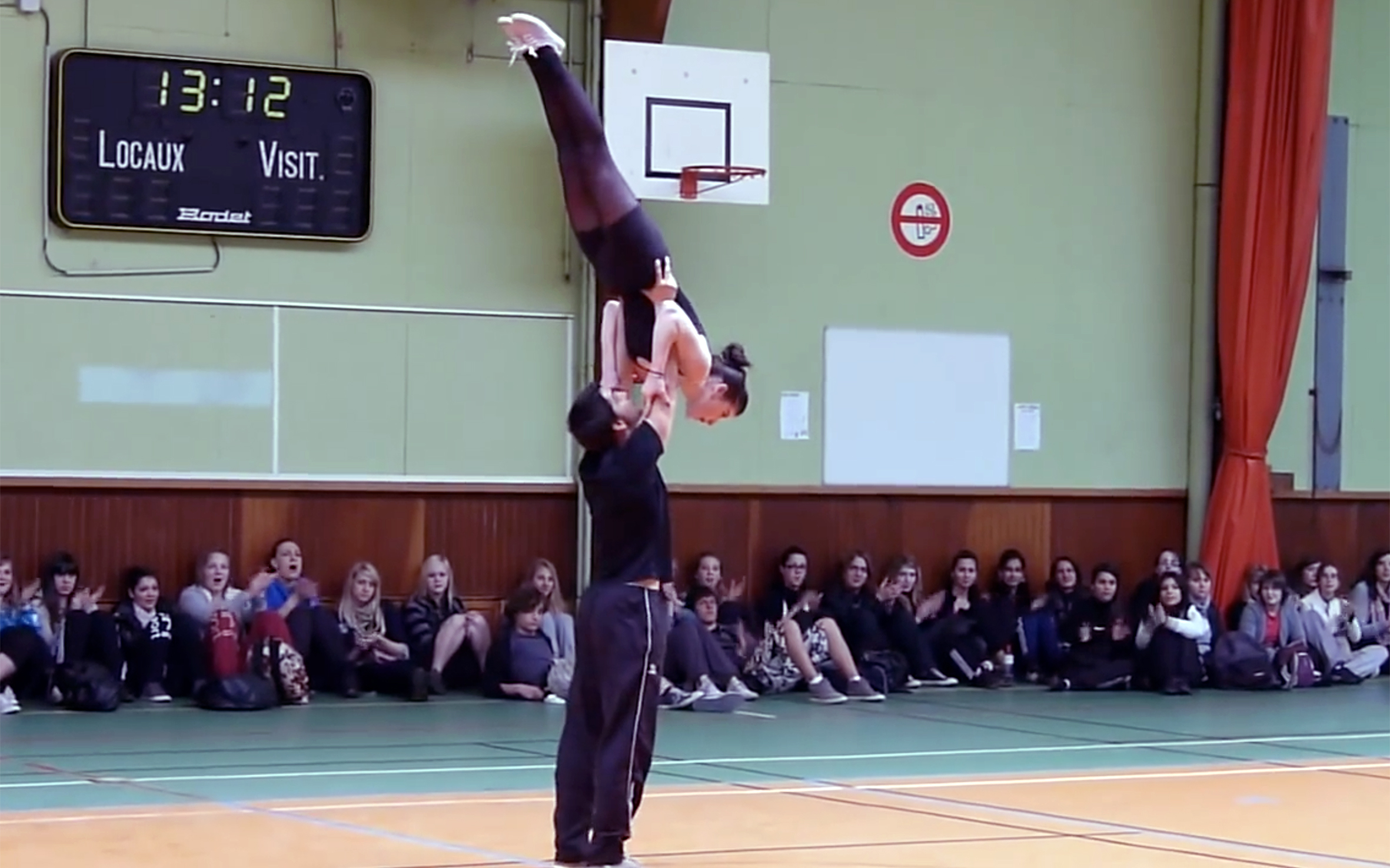 7.ACROBATIC ROCK / France - ACROBATIC ROCK is a dance based on rock'n'roll dance which was brought by the Americans after the Second World War. Further it added more dynamic movements. In France, Acrobatic Rock first appeared in Lyon in 1960.