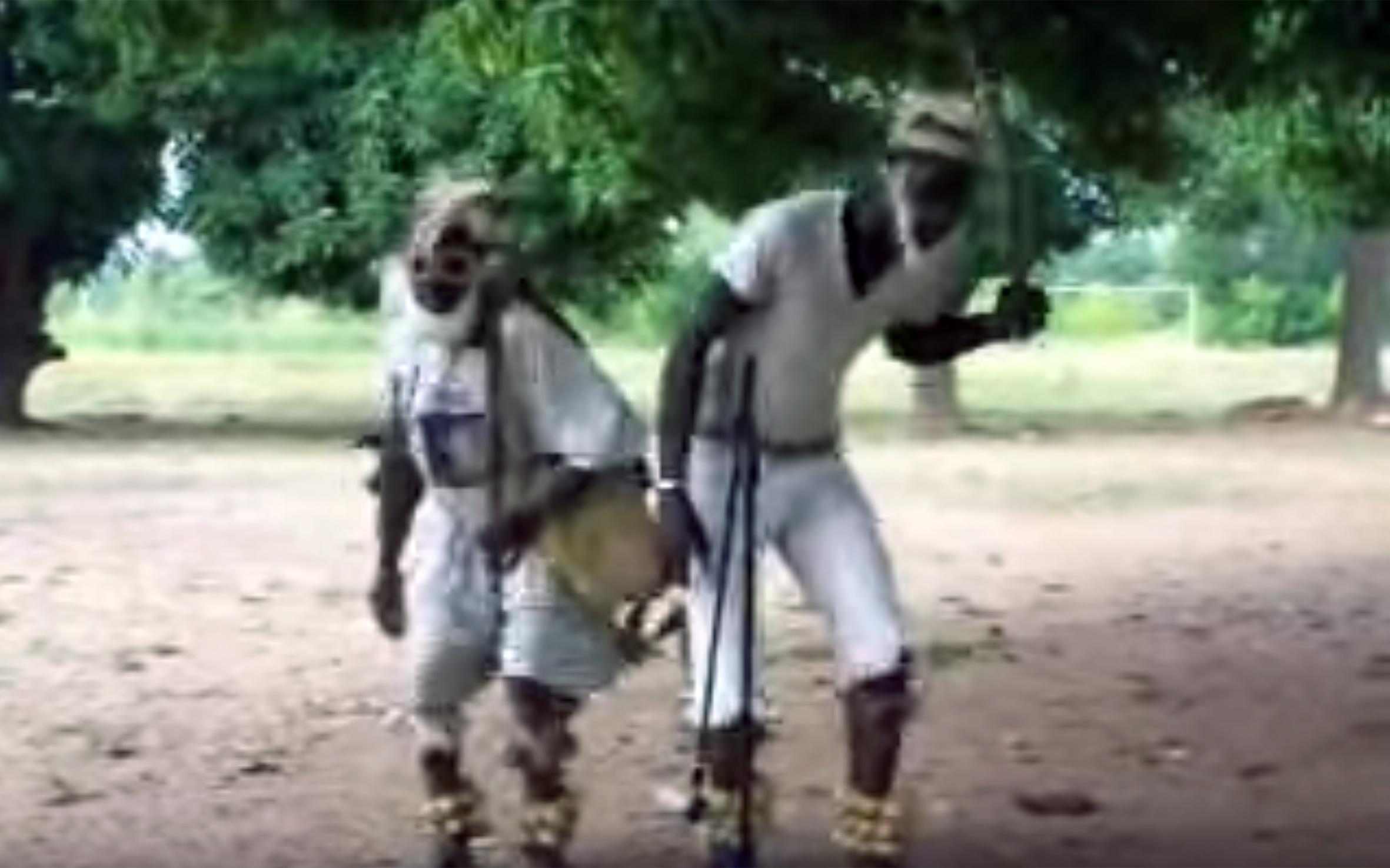 241.DITAMMARI / Benin - DITAMMARI Is a traditional dance from Ditammari people from Benin.