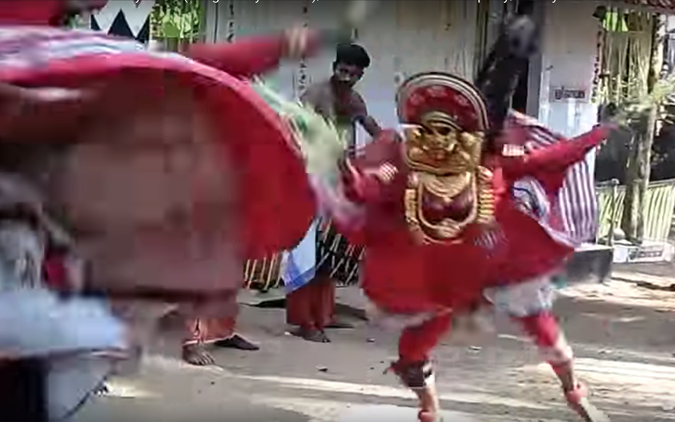 938.VELLATTU / India - VELLATTU is a dance originating from south of India, performed as a ritual prior to Theyyam.