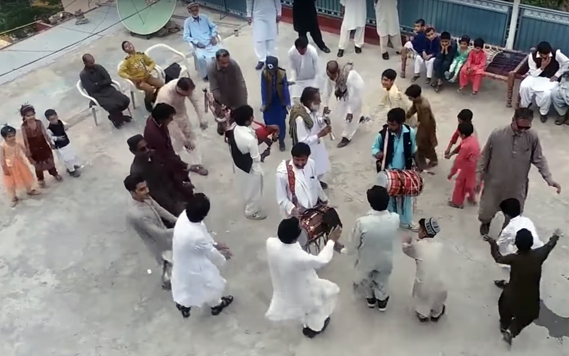510.Kumbar / Pakistan - Kumbar is a folk dance of Hazara in Khyber Pakhtunkhwa, Pakistan.