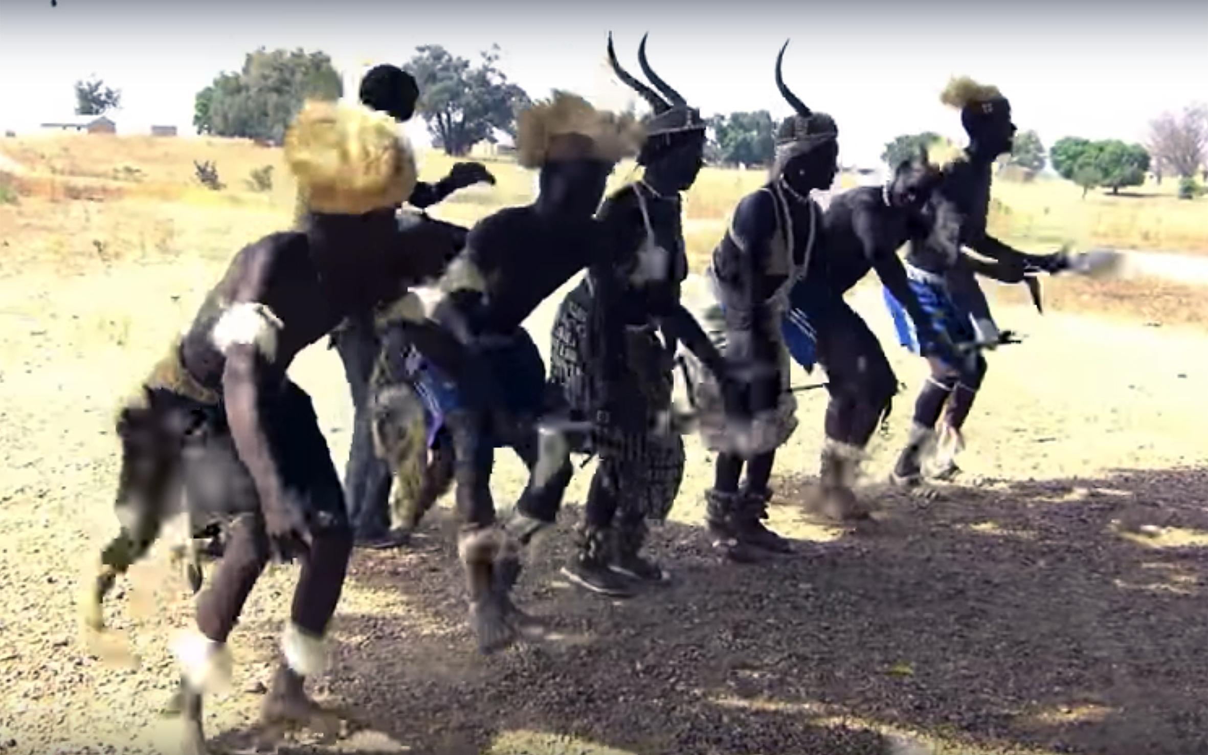 858.Tamberma / Togo - Tamberma is an amazing traditional dance of Tamberma People in North of Togo. The region is called also Koutammakou and the people Batammariba.