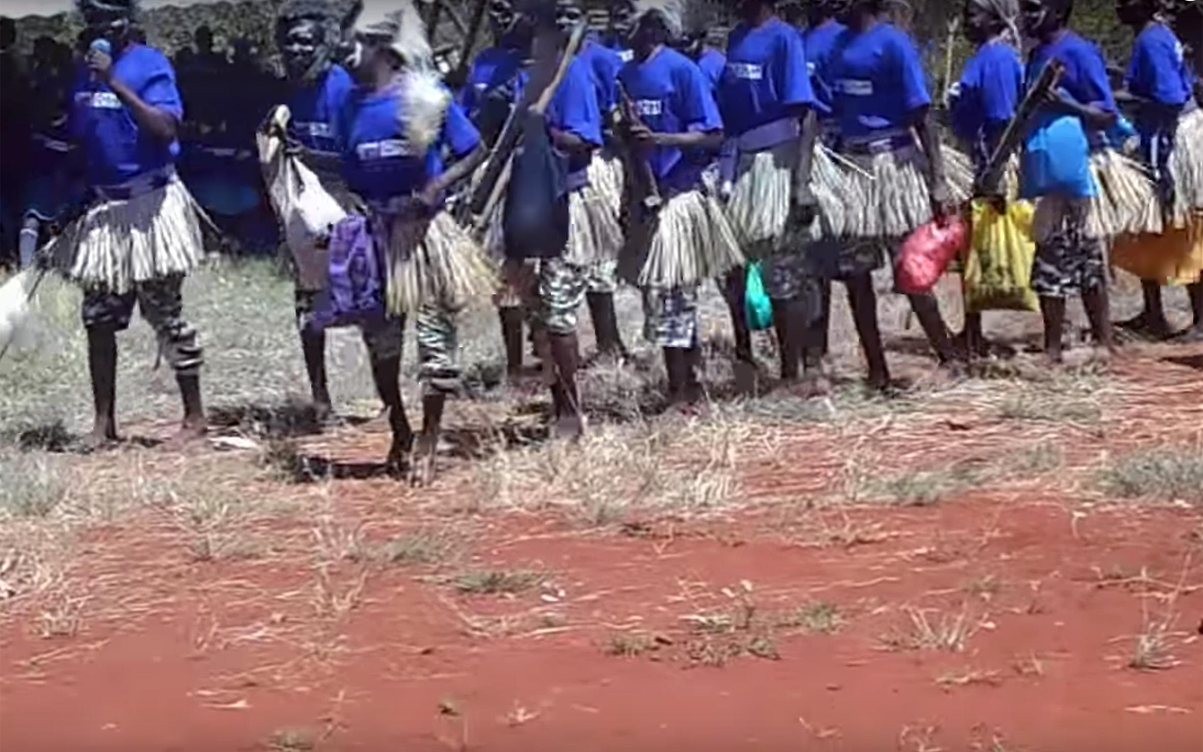 878.Tharaka DANCE / Kenya - Tharaka DANCE is a traditional dance of Tharaka people from Kenya.