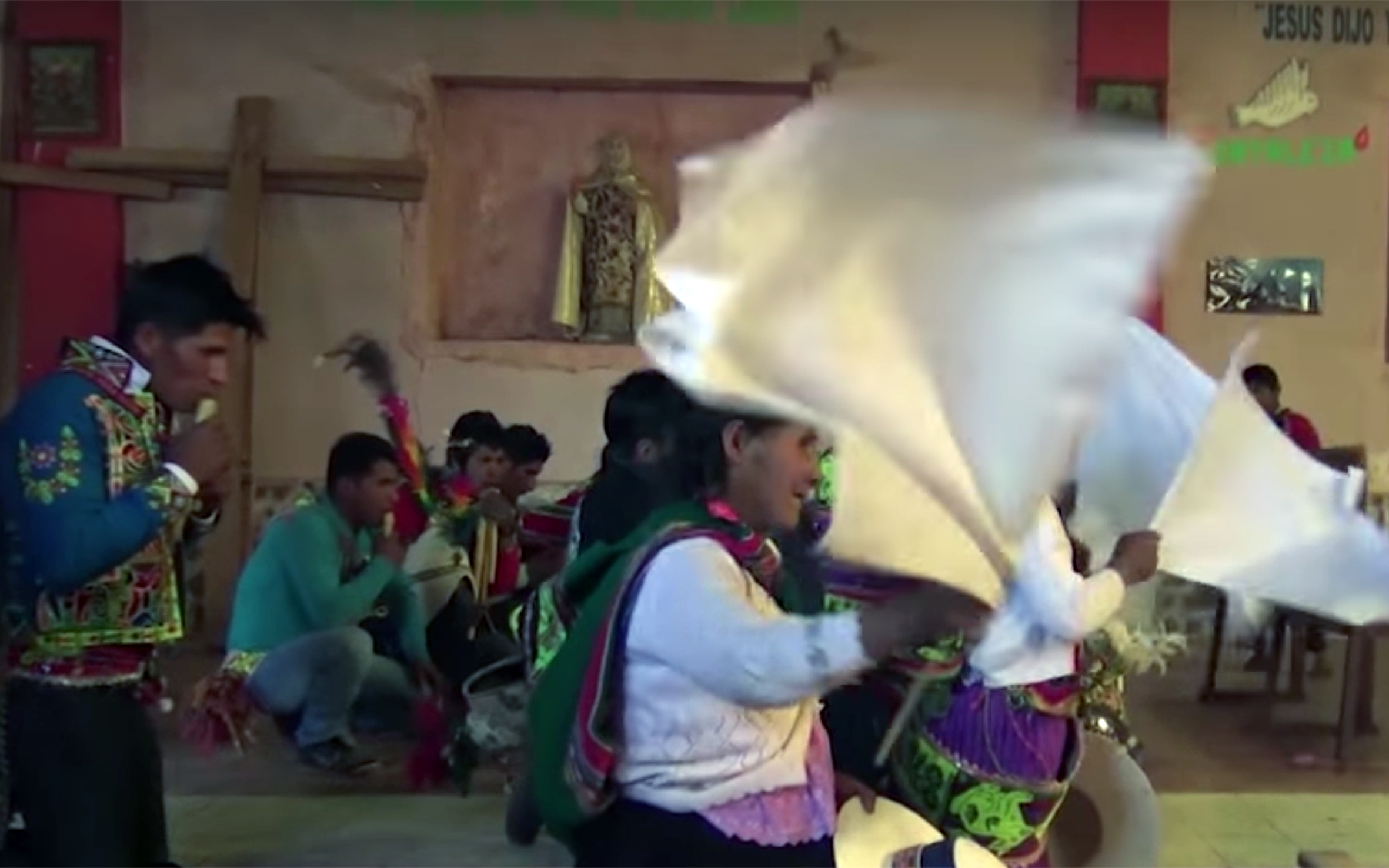 883.Tinku / Bolivia - Tinku is a ritual and a folkloric dance that is danced originally in the north of Potosí, in Bolivia. Word Tinku means