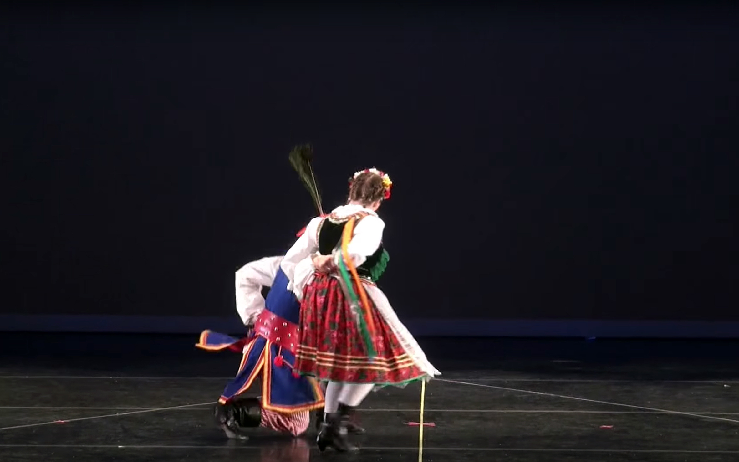 650.Oberek / Poland - Oberek is a lively Polish folk dance and the fastest of the Five National Dances of Poland. Its name is derived from Polish word