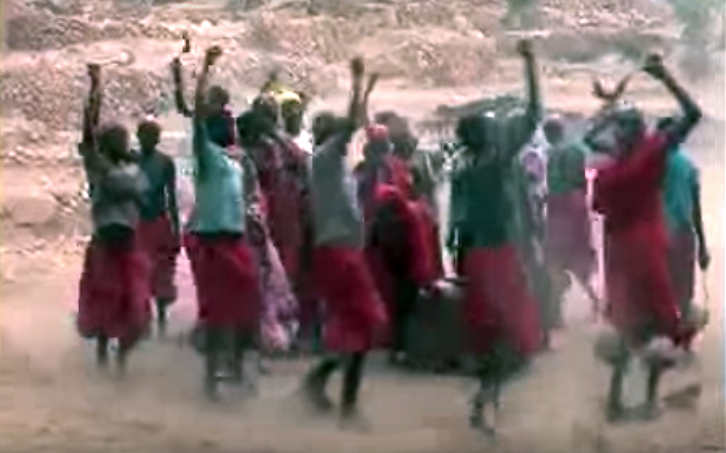 664.OUDJILA / Cameroon - OUDJILA is a traditional dance from far North of Cameroon.
