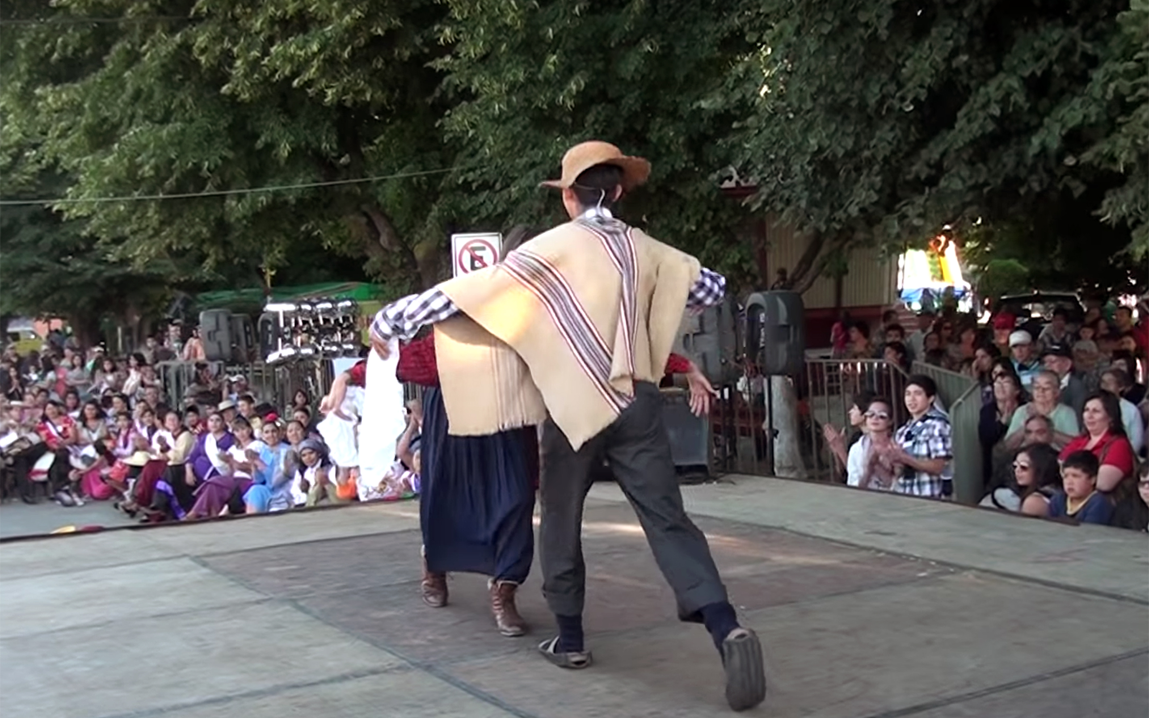 """684.Pequén / Chile - Pequén is a Chilean folkloric dance of popular roots, danced in different ways, according to its region of origin. There are two versions of the dance: Pequén Gañan, originally from Chiloé, and Pequén Campesino, danced in the central area. It is classified among the """"zoomorphic dances"""