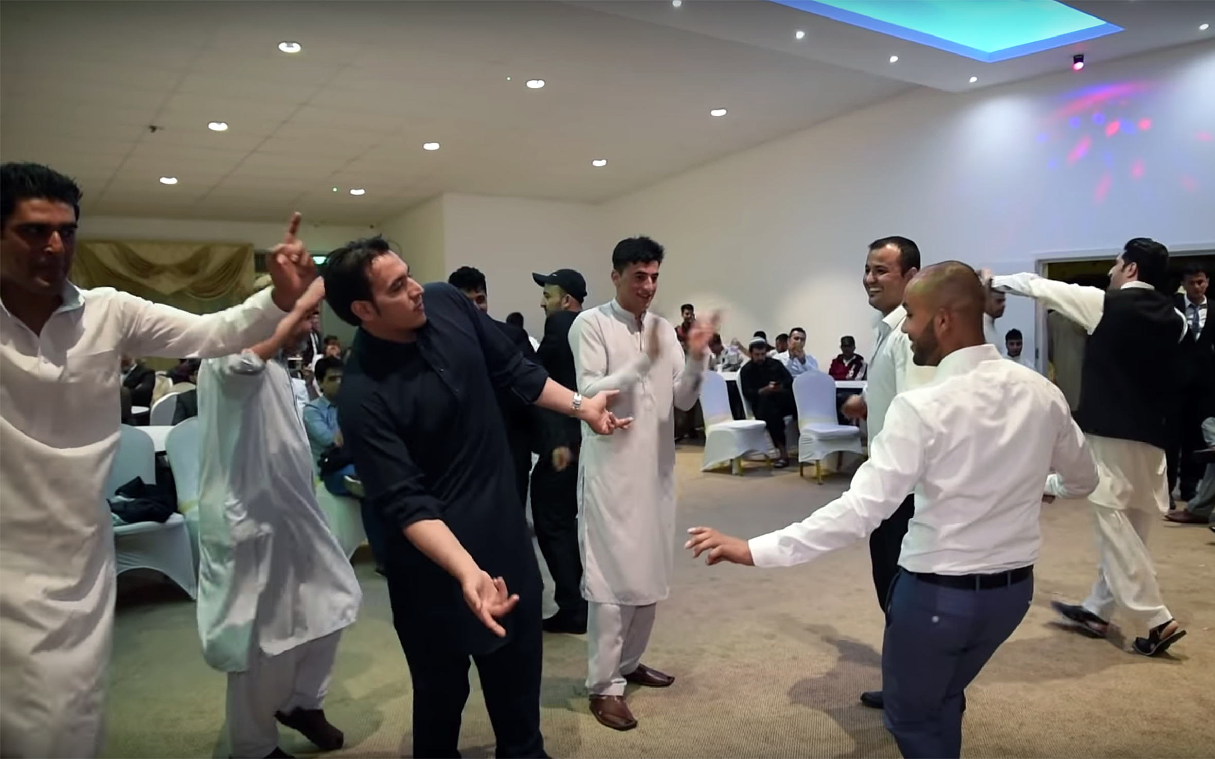 713.Qataghani / Afghanistan - QataghanI is one of the traditional dances of Afghanistan and also a music style. It is famous both in Afghanistan and in Pakistan. It is a fast paced and joyous kind of music and dance with fast movement of arms and hands as its main characteristics.