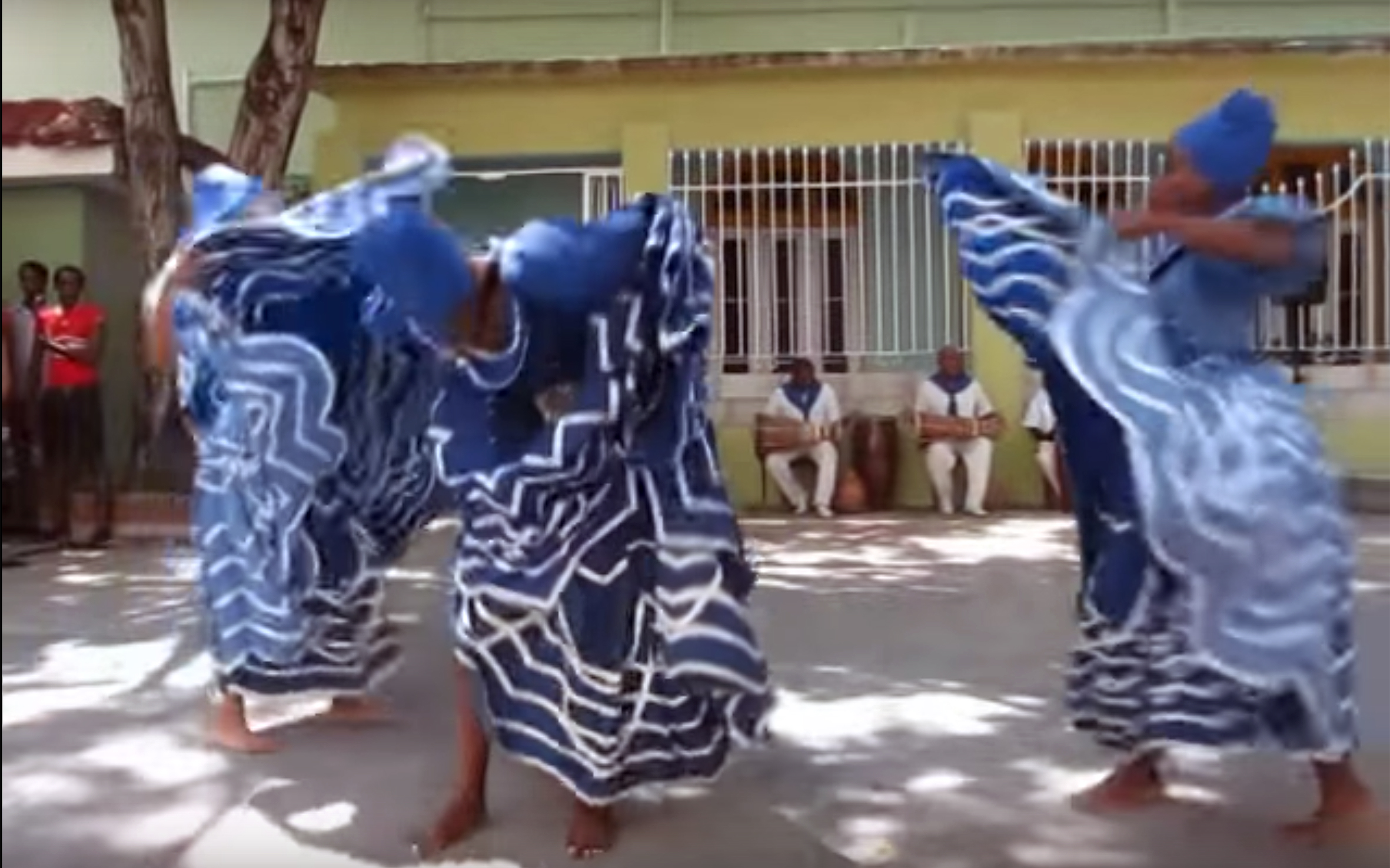 977.Yemaya DANCE / Cuba - Yemaya DANCE is one of the Orisha dances. Yemaya is the mother of all, she is the goddess of the ocean and one of the most powerful Orishas, associated with the moon, the ocean and feminine mysteries. She is the goddess of life. Her dance alludes to female wisdom and the power of community. The cycle of life, healing and vicious properties of water are all present in her dance.
