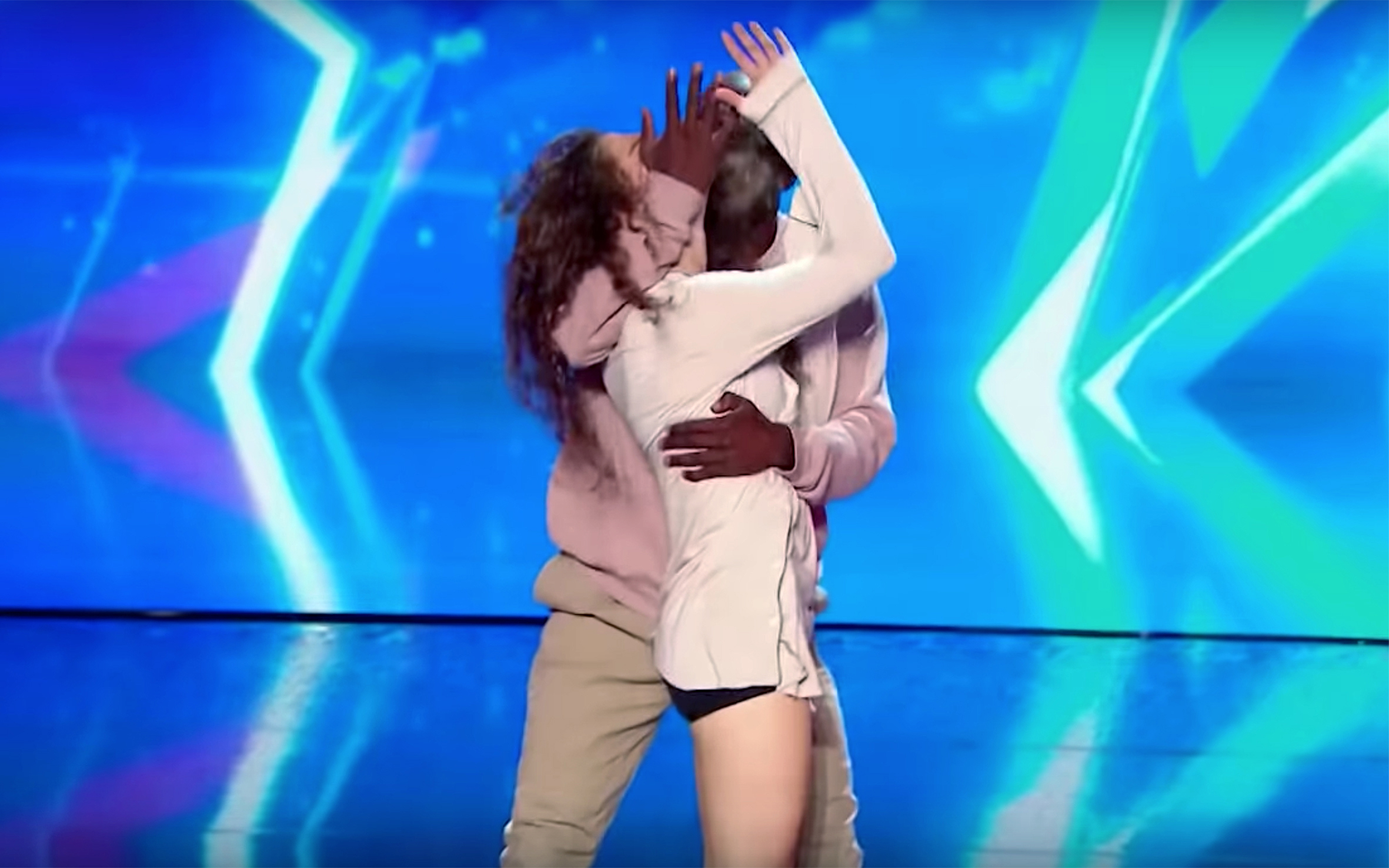 267. EMOTIONAL DANCE AGAINST DOMESTIC VIOLENCE / France - EMOTIONAL DANCE AGAINST DOMESTIC VIOLENCE is a dance performed by Dakota and Nadia on France Got Talent 2018. They performed a very emotional contact dance on the subject of domestic violence against women, to raise awarenes about this subject and they left the whole audience in tears.