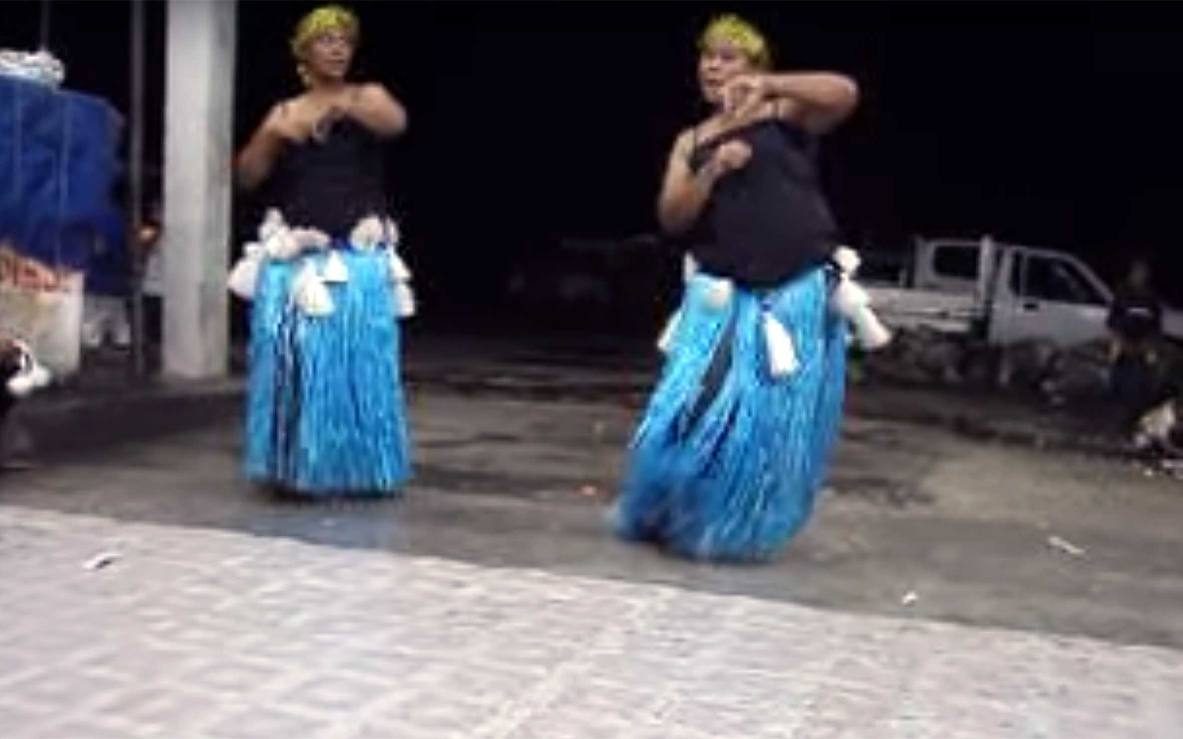 214. DANCE OF A FISH / Nauru - DANCE OF A FISH is a traditional dance coming from Nauru, a tiny island country in Micronesia, northeast of Australia. It is a dance to celebrate the catch of a fish, because fishing is an integral and imporant part of Nauru living and culture. After the dance, the dancers and the community would eat the fish.