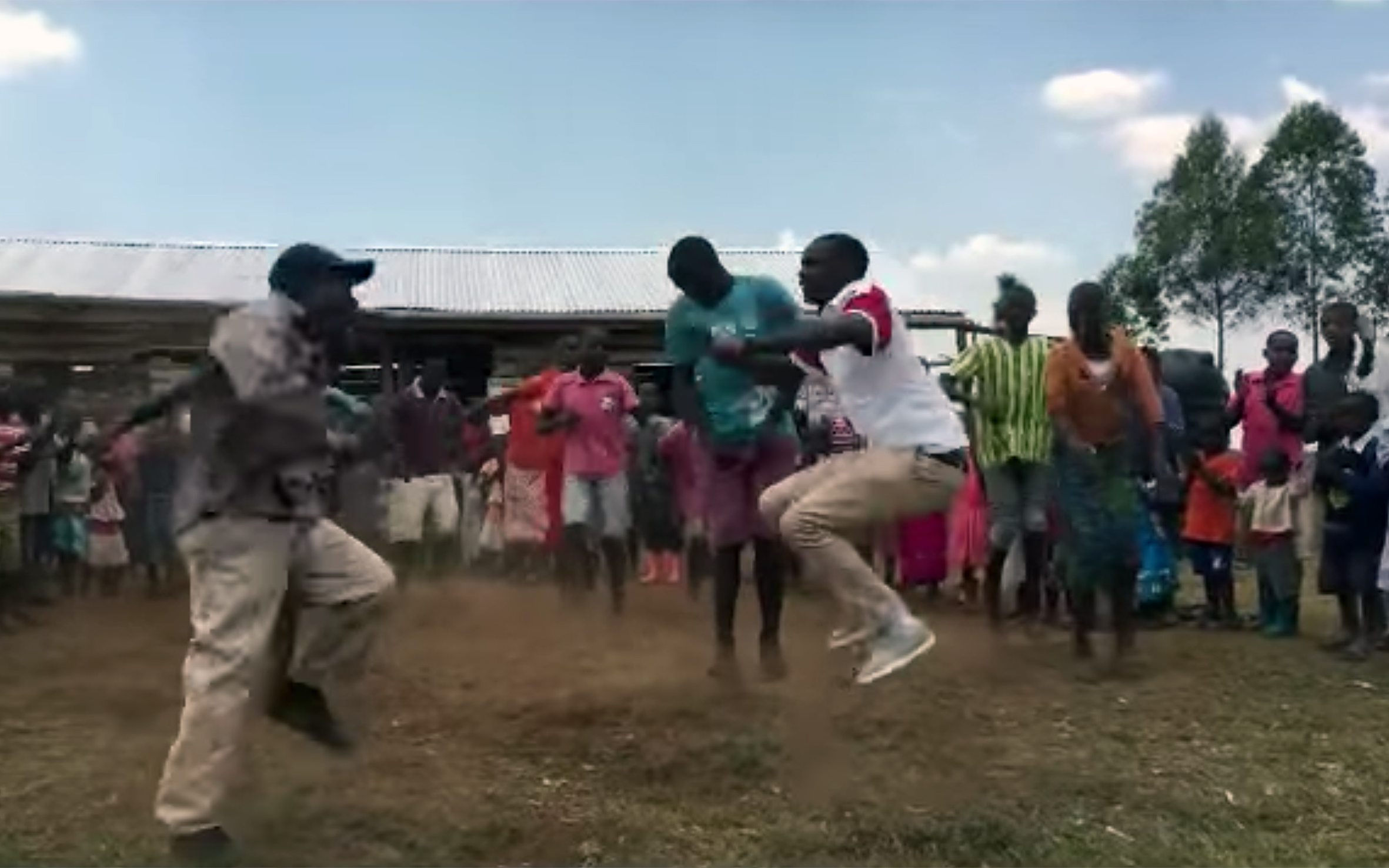 64.Bakiga DANCES / Uganda - Bakiga DANCES are traditional dances of Bakiga people of the Kigezi region in southern Uganda, such as Ekizino. The weather in this region is similar to that of many European mountain countries, and the region is often called the