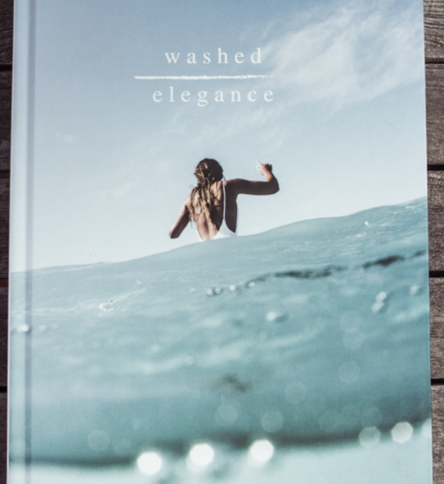 Washed Elegance - book by Cait Miers