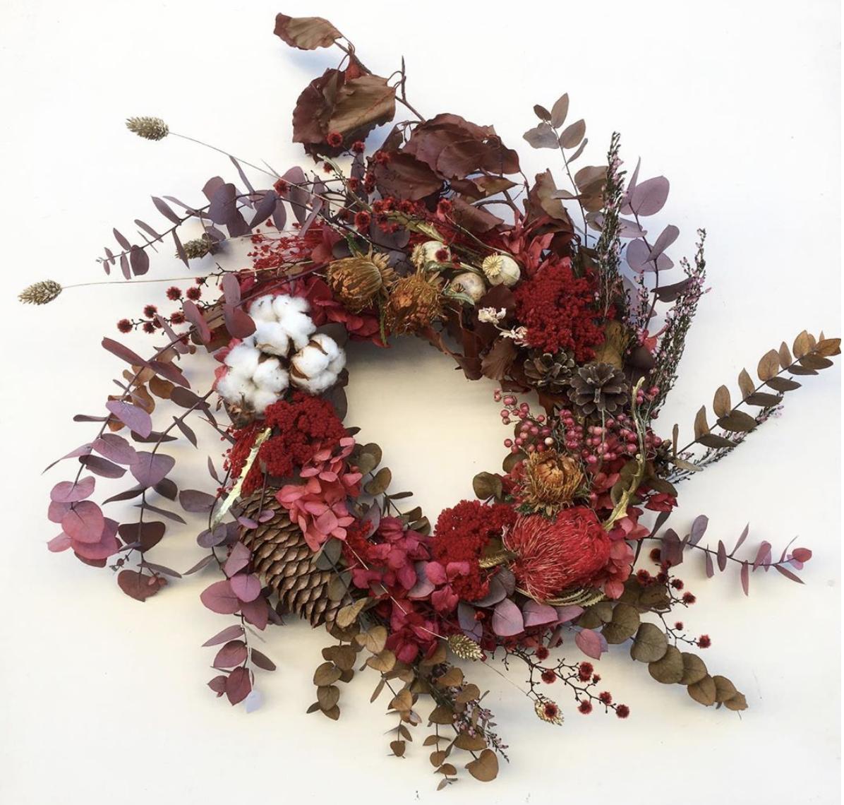 Couronne de fleurs - Berry Les Fleurs biarrotes