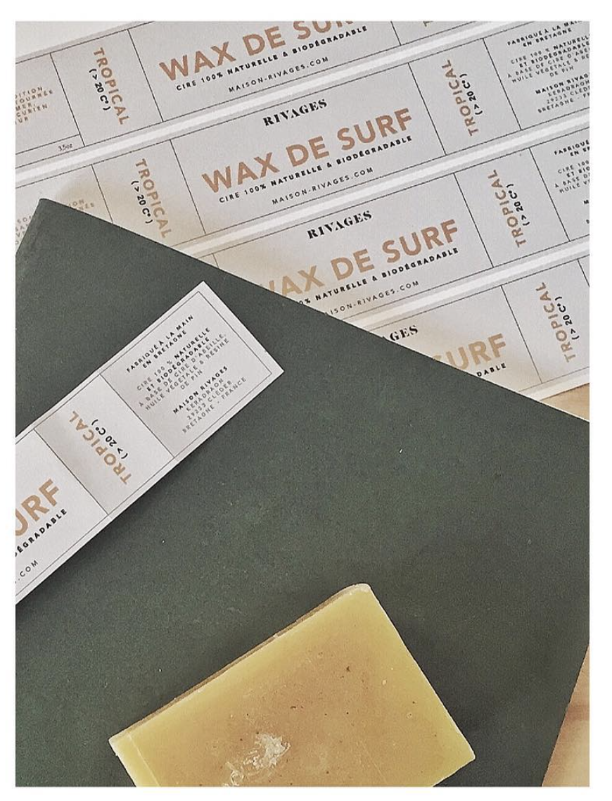 Wax de surf - Maison Rivages
