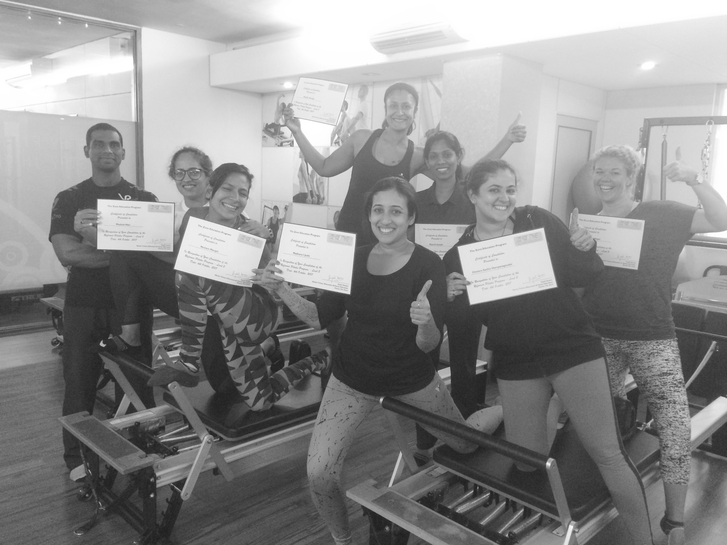 continued education fitness teacher training Anjali Sareen