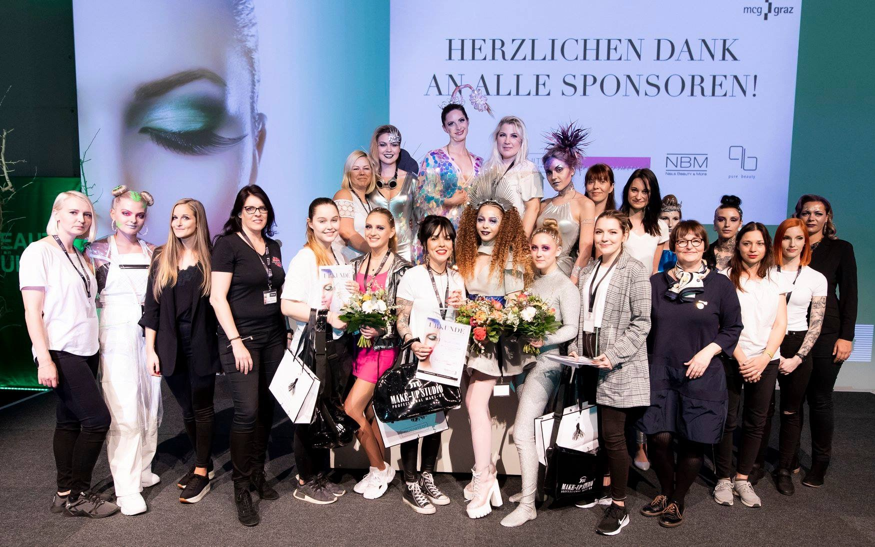 Foto: Messe Graz, Make-up Meisterschaften 2019, Trends of Beauty