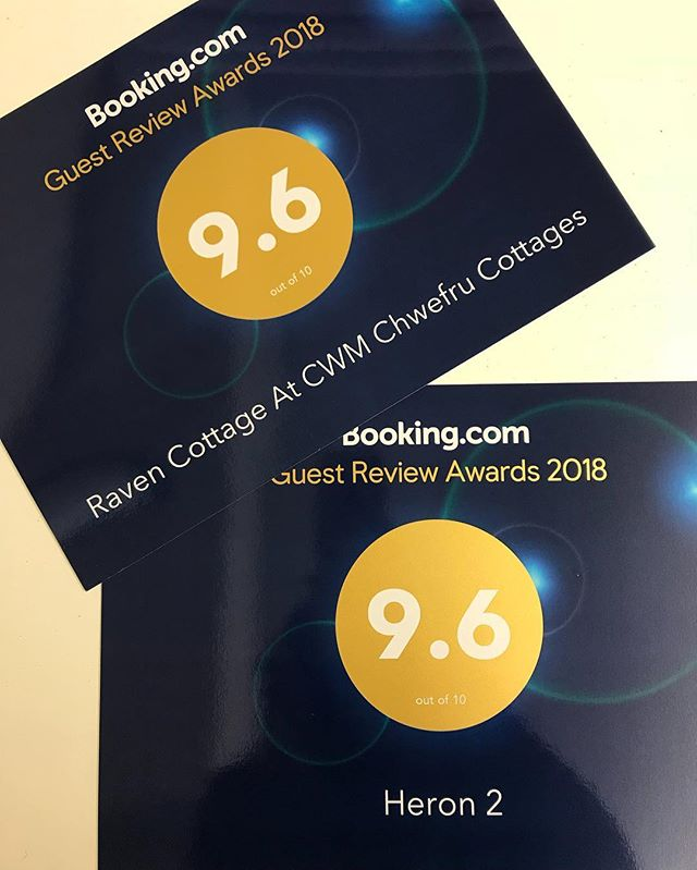 Very pleased to have received these in the post today 😁 @bookingcom  #holiday #holidaycottage #booking.com #accomadation #views #birdwatching #swimming #tennis #minigolf #gamesroom #sauna #hiking #walking #wildlife #instagram