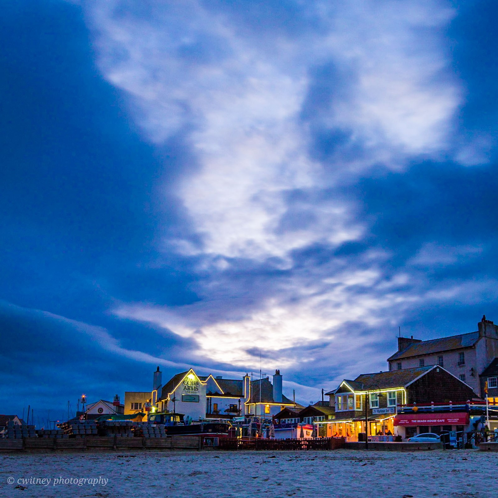 Lyme Regis heavens above