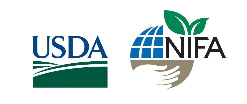USDA+and+NIFA+logos