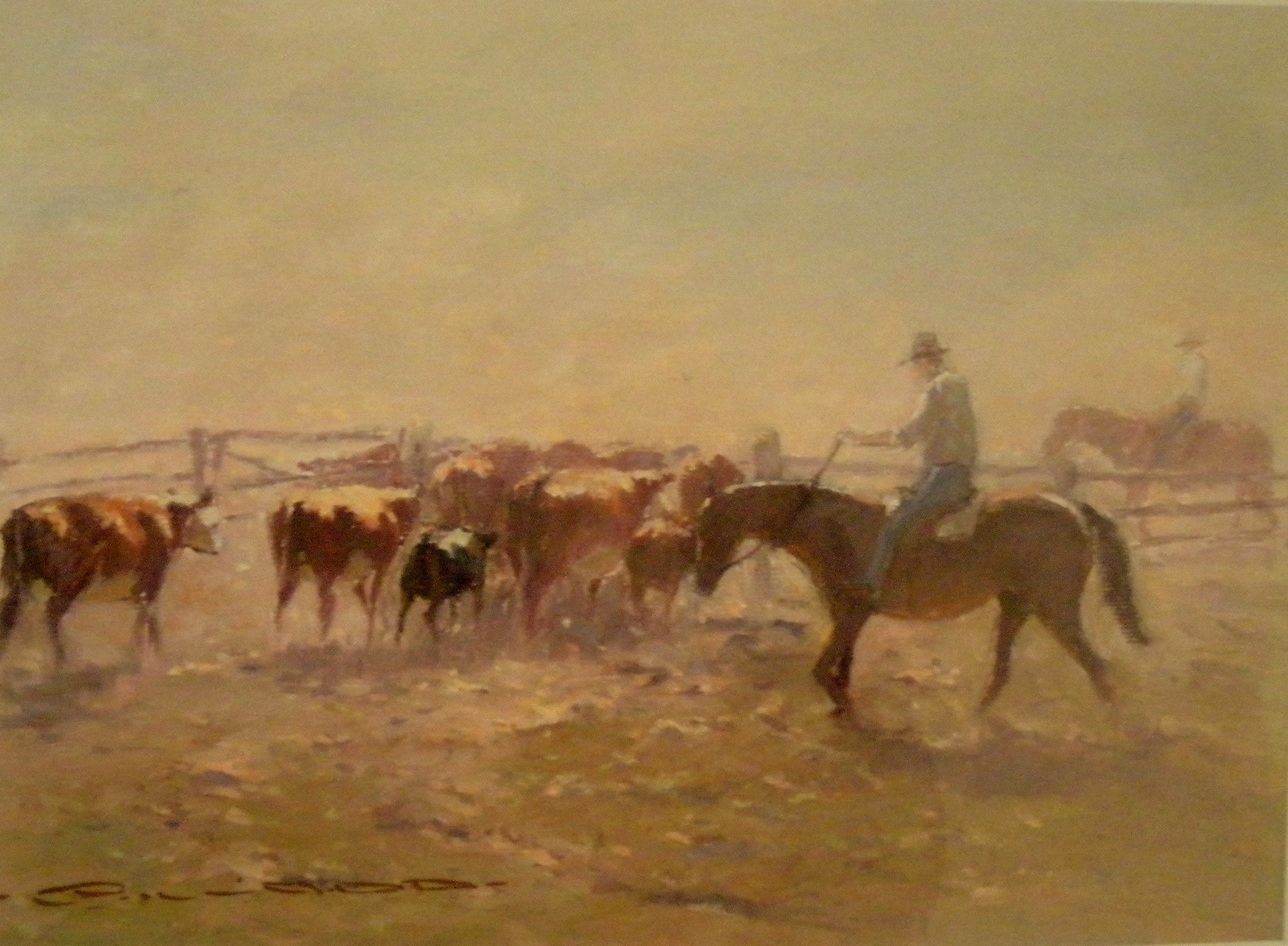 The Drovers by Bill Odd