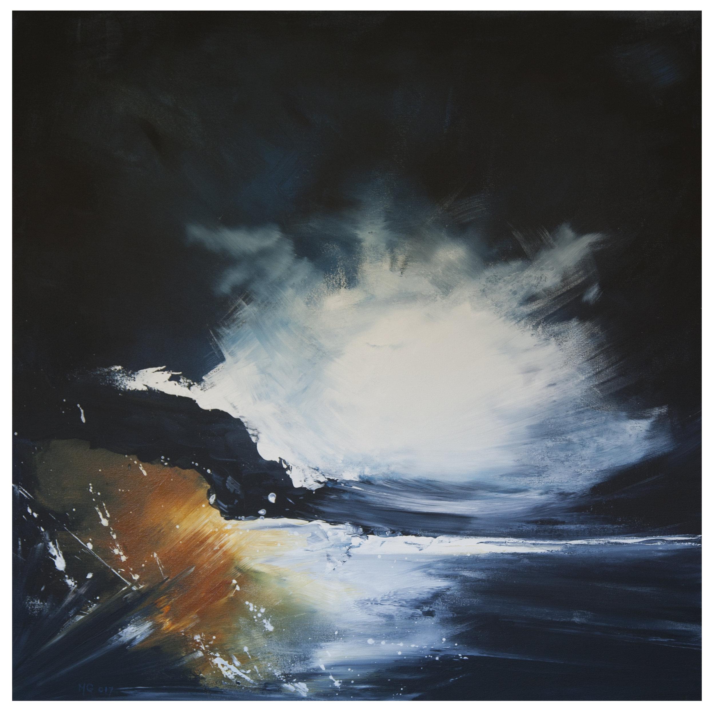 1A GALLAGHER_Martin_Night Cloud at Watego Beach_91cmx91cm_Acrylic on Canvas.jpg