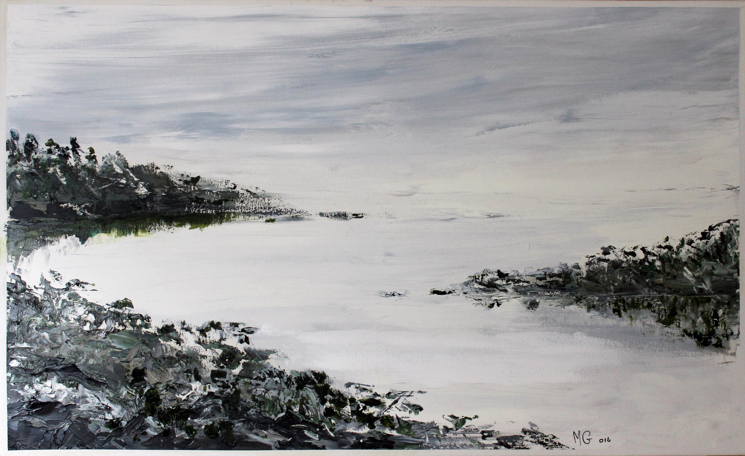 5. GALLAGHER_Martin_Heading Towards Open Water (Nambucca Heads)_122cmx76cm_Oil on Canvas.jpg