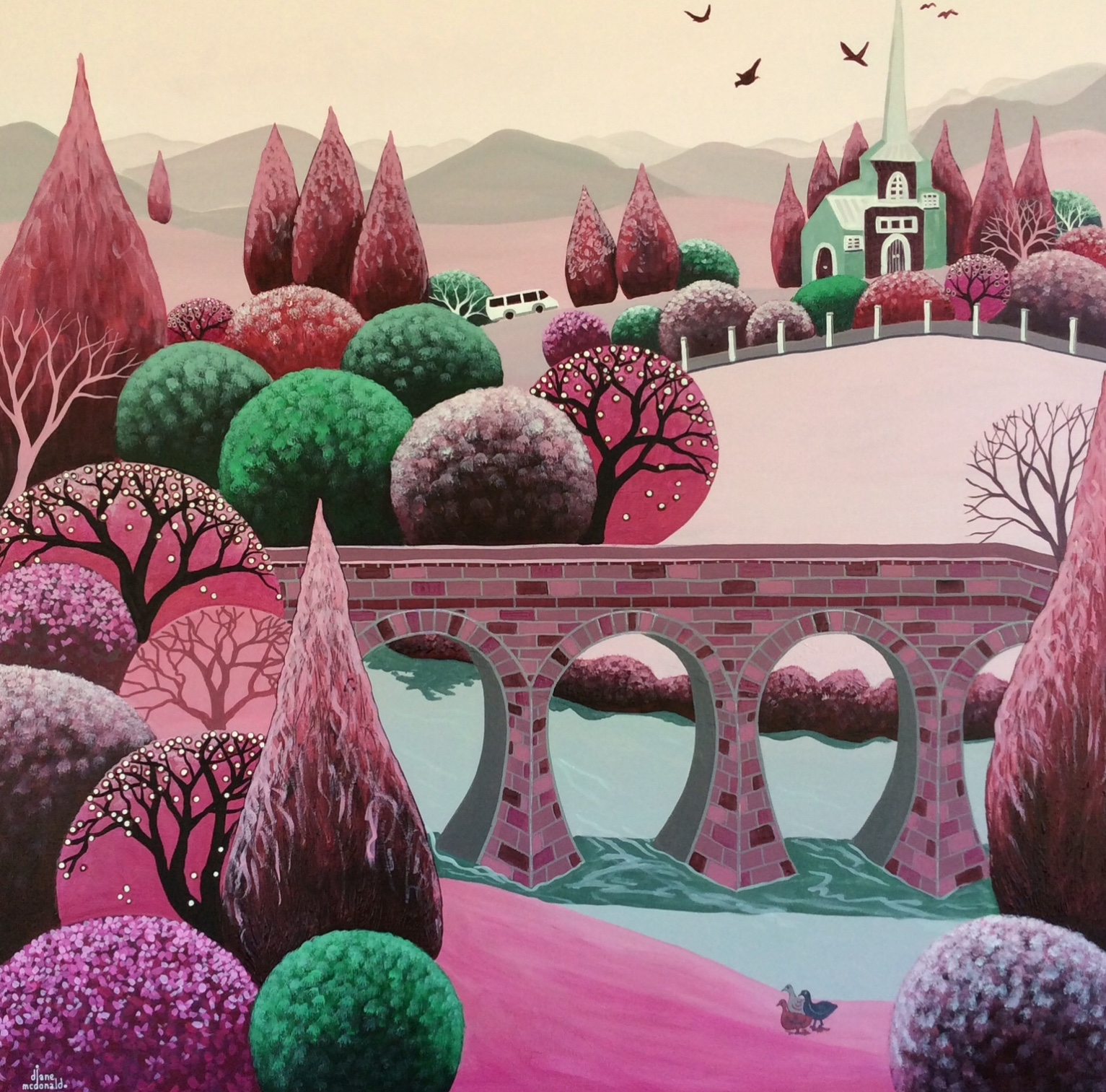 Richmond In Rose by Diane McDonald