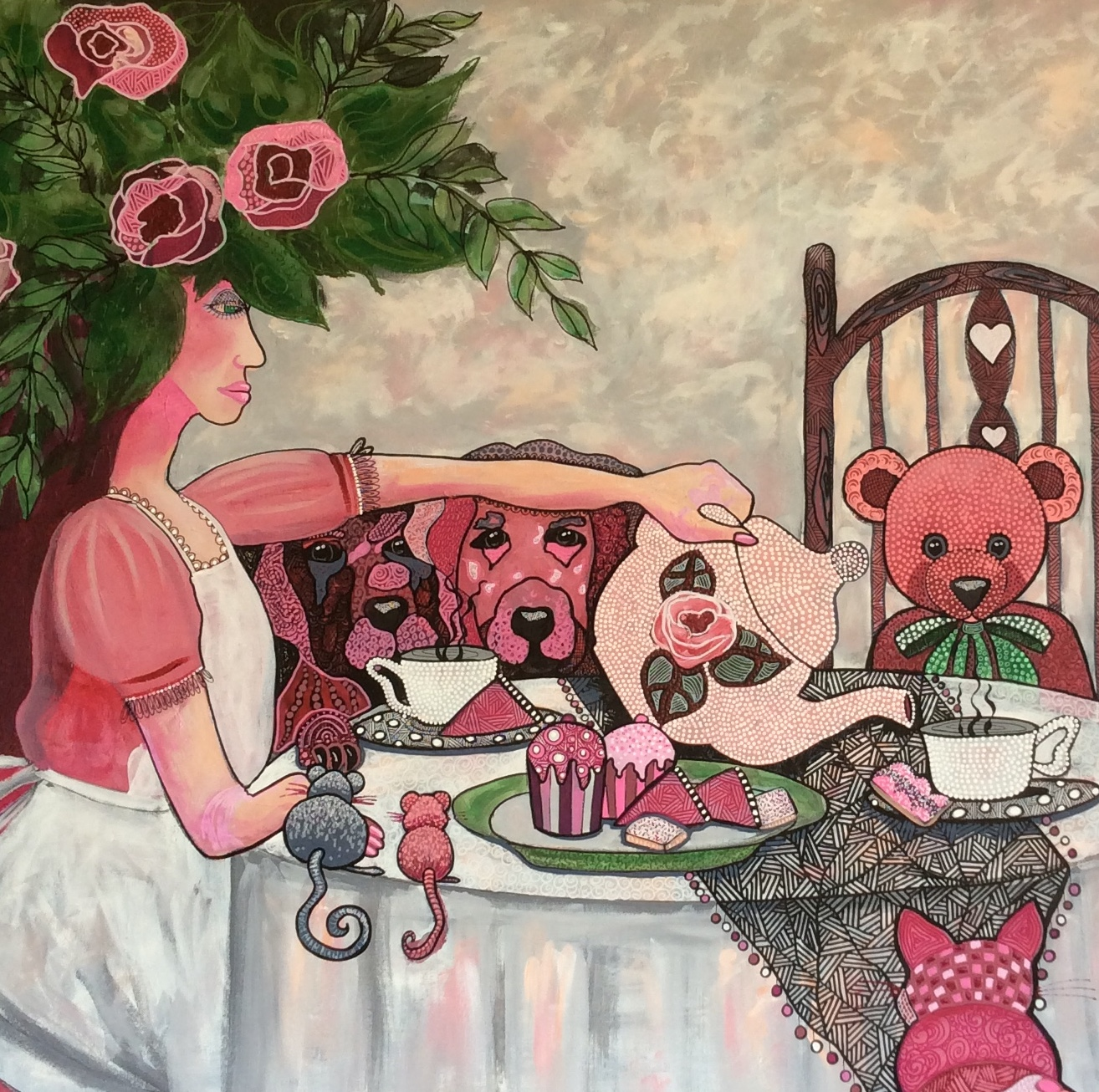 I Had A Little Tea Party by Diane McDonald