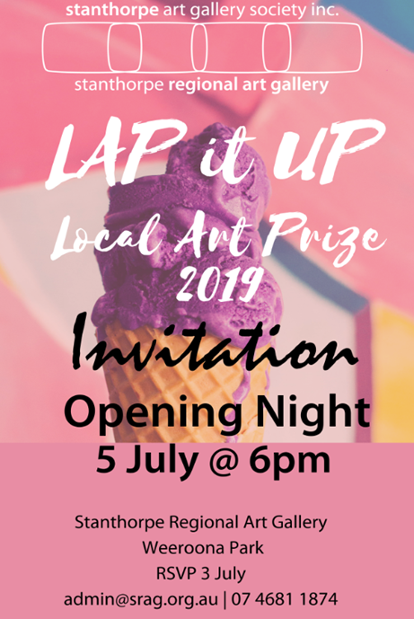 Opening Night: LAP It Up - Local Art Prize — Stanthorpe