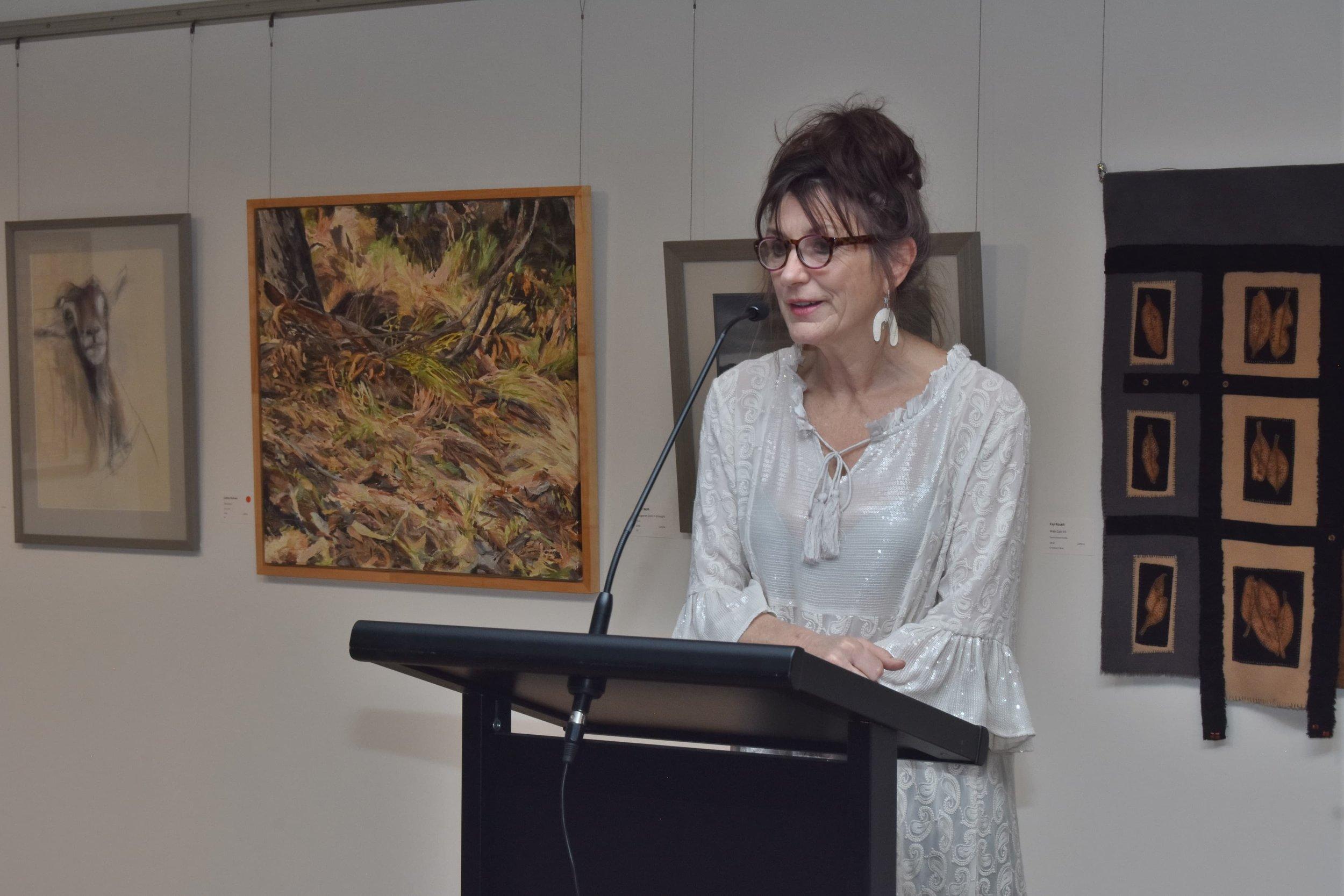 Gallery Director, Mary Findlay