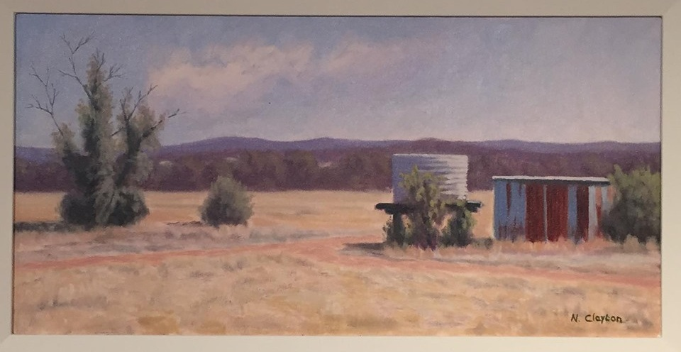 Norman Clayton  Sangricoli Farm #1 Stanthorpe,  Oil