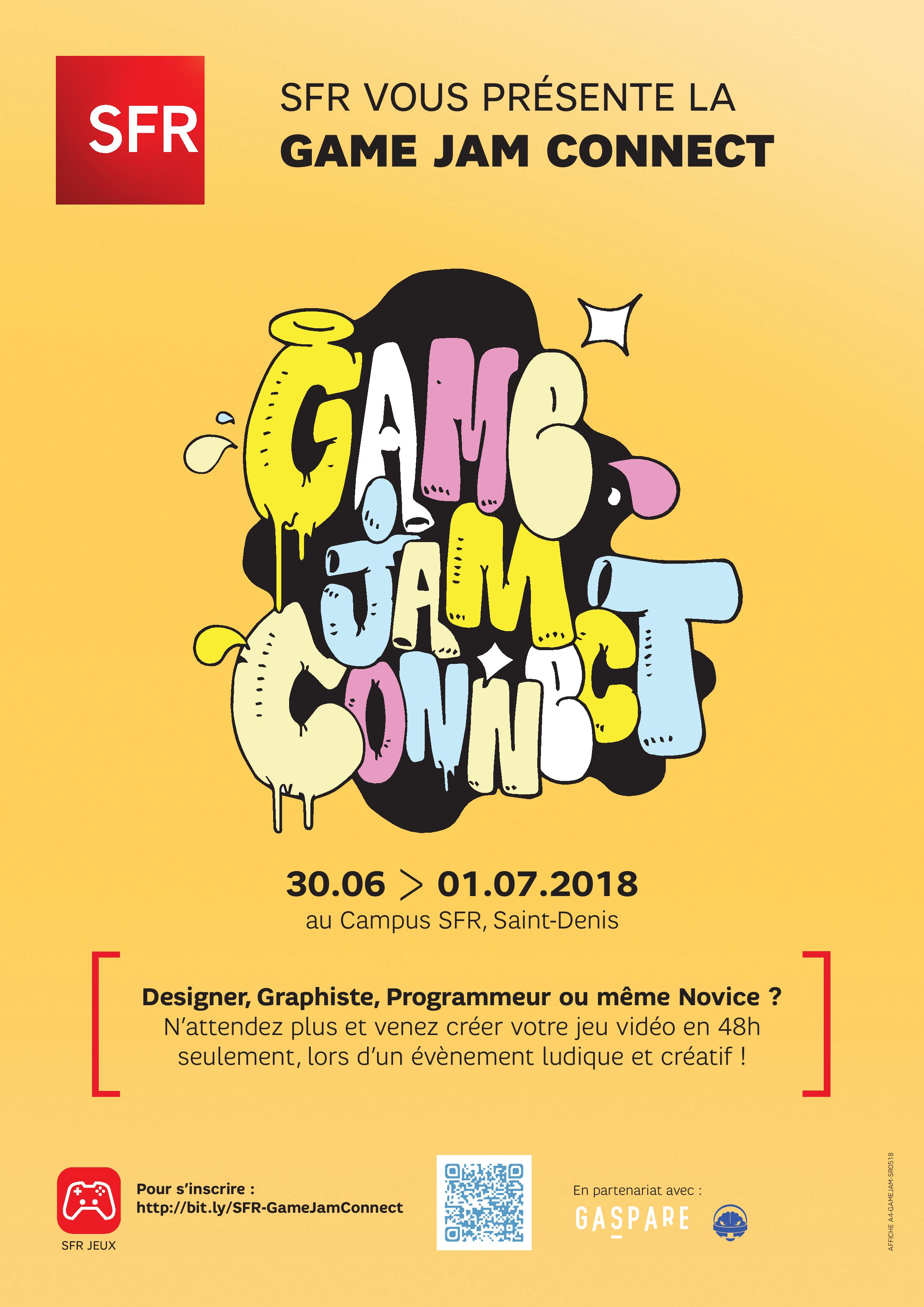 Game Jam Connect - SFR