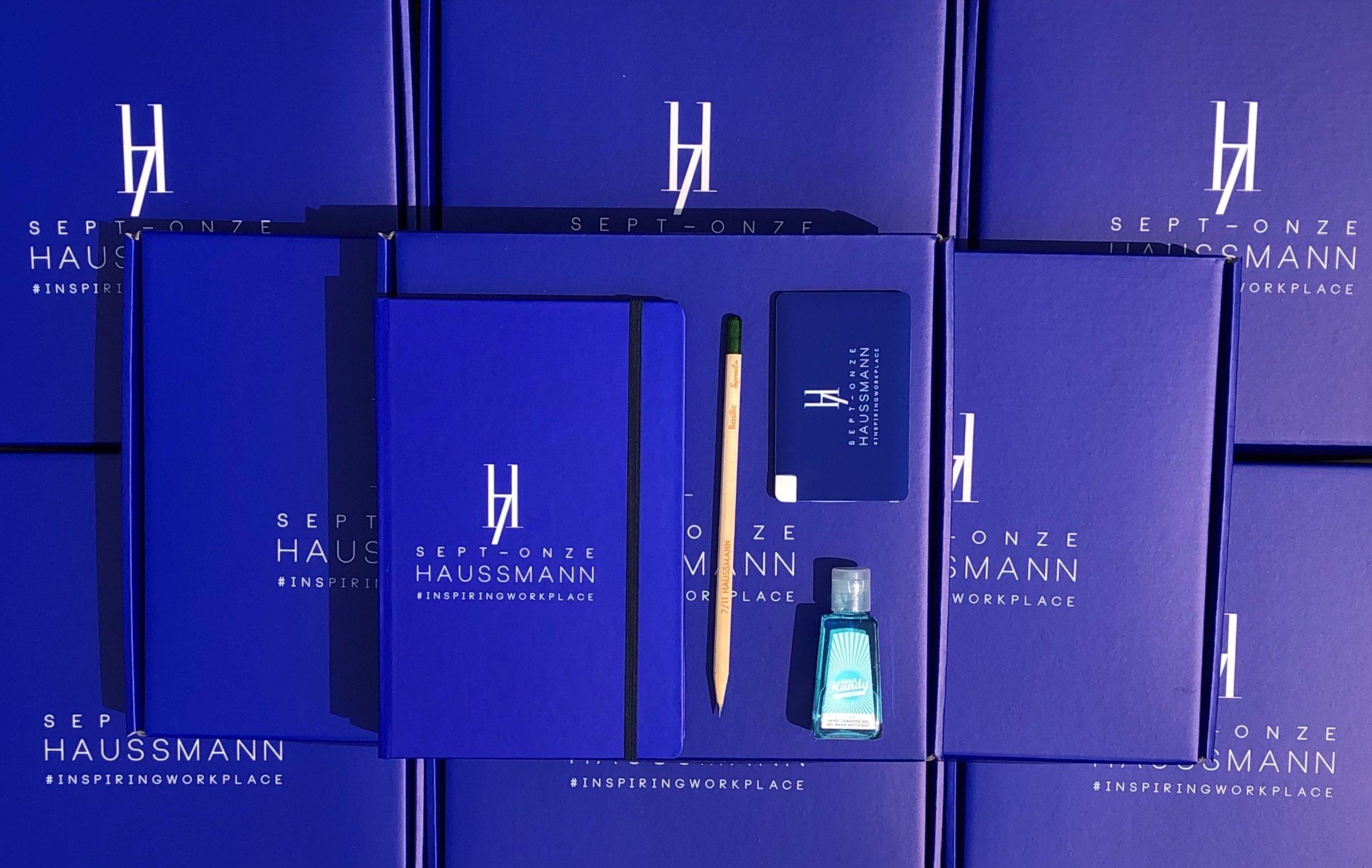 Welcome Pack - 7/11 Haussmann