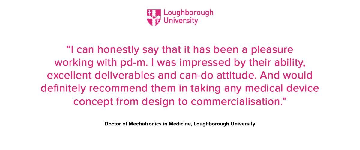 Loughborough University testimonial