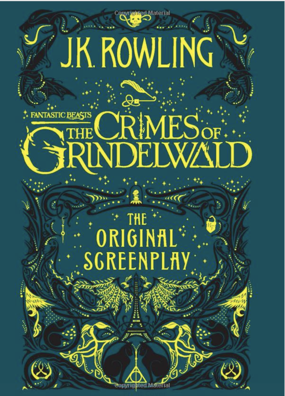 jk rolwing crimes of grindewald