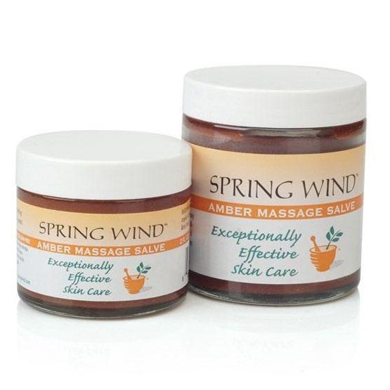 Spring Wind Amber Massage Salve