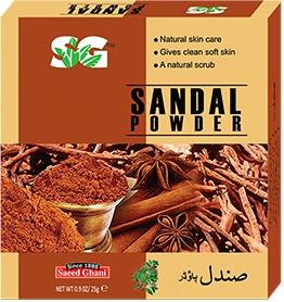 Saeed Ghani's Sandalwood powder